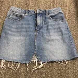 Urban Outfitters BDG Distressed Mini Skirt